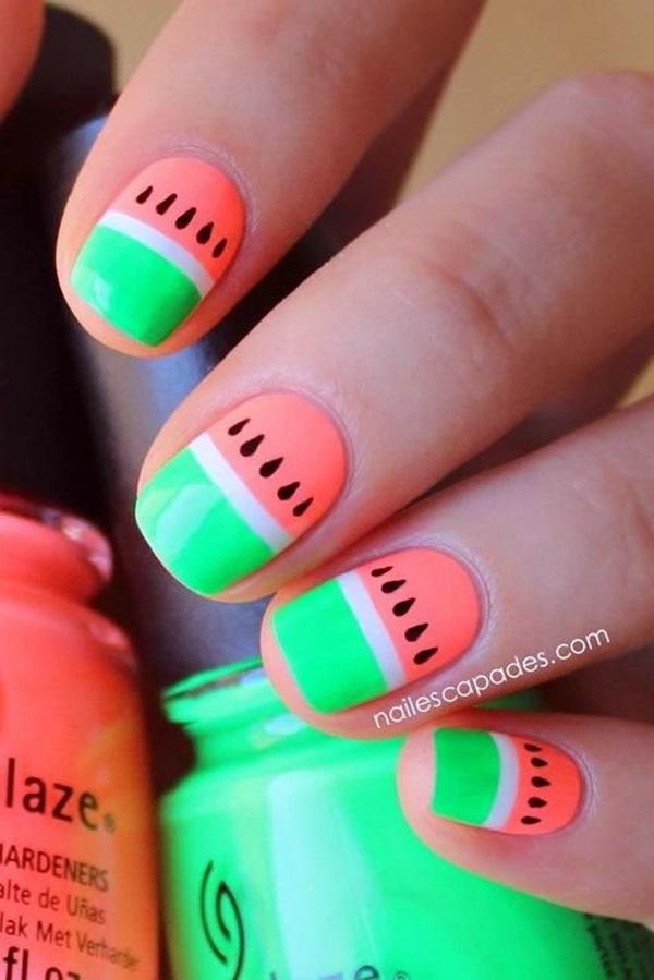 Summer Nail Art Designs and Colors (1)