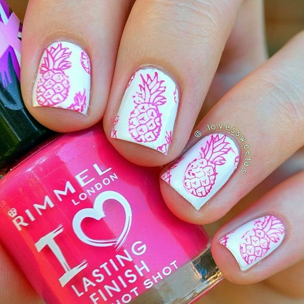 Summer Nail Art Designs and Colors (15)