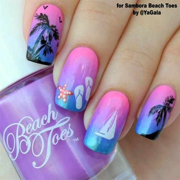 Summer Nail Art Designs and Colors (17)