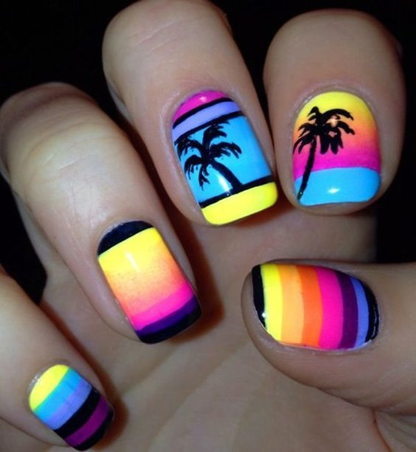Summer Nail Art Designs and Colors (23)