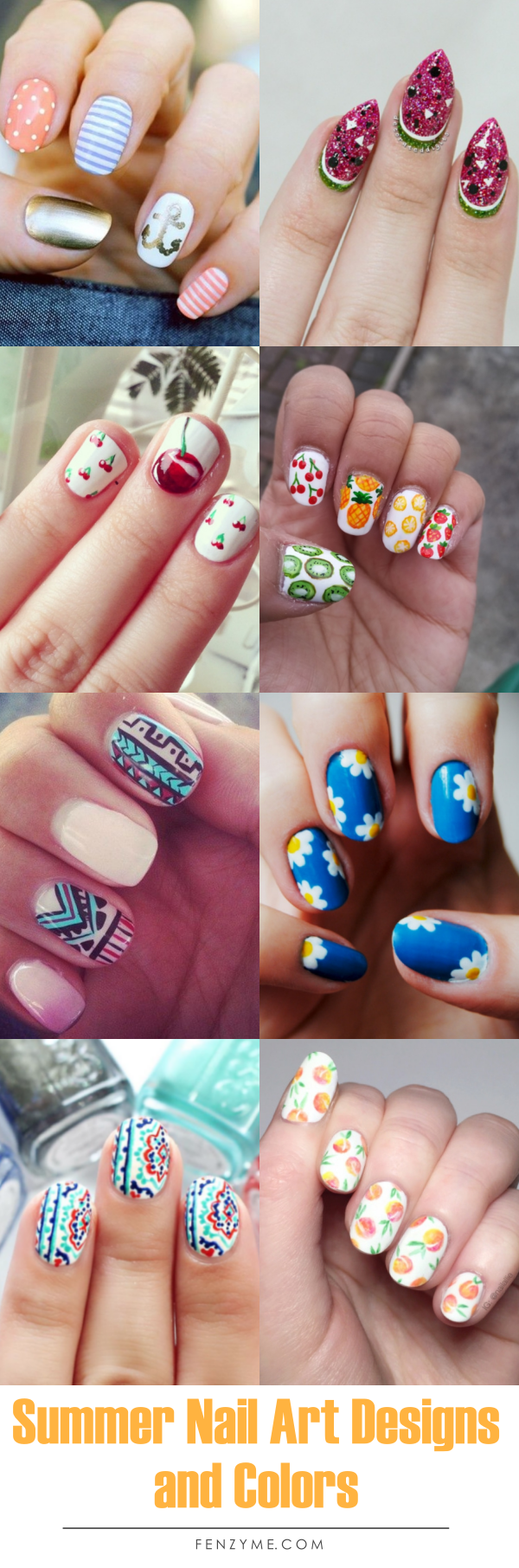 Summer Nail Art Designs and Colors00001