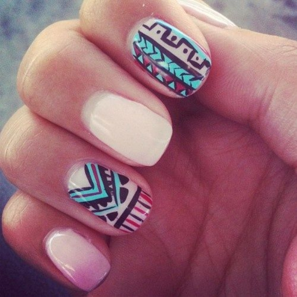 Summer Nail Art Designs and Colors00006