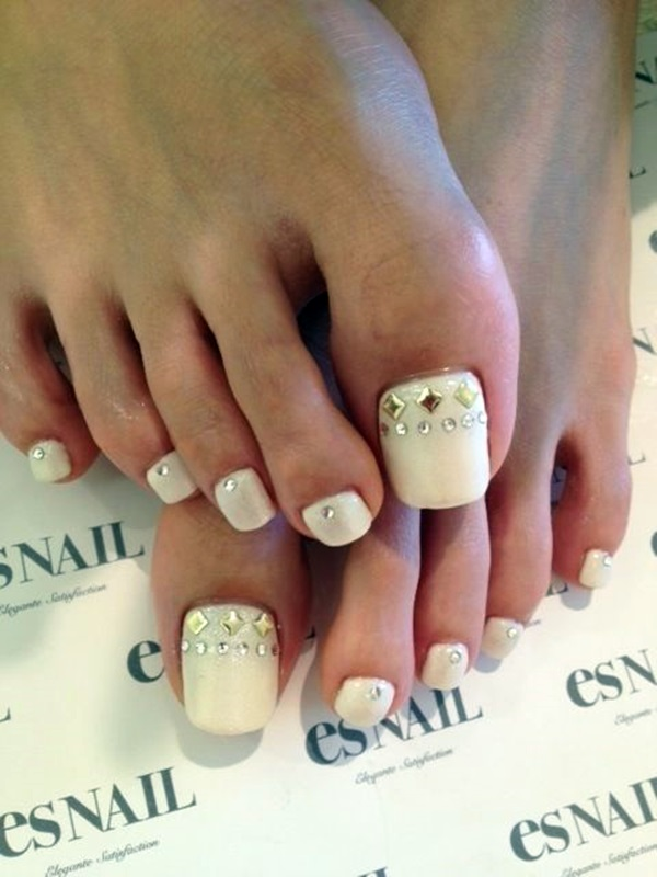 how to make your toenails look good