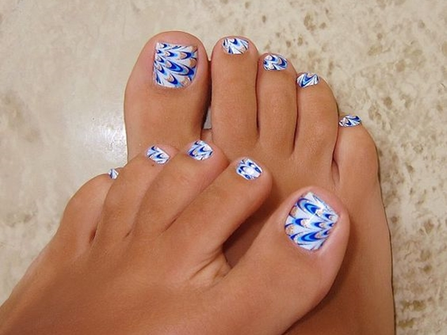 45 Cute Toe Nail designs and Ideas - 45 Cute Toe Nail Designs And Ideas - Fashion Enzyme