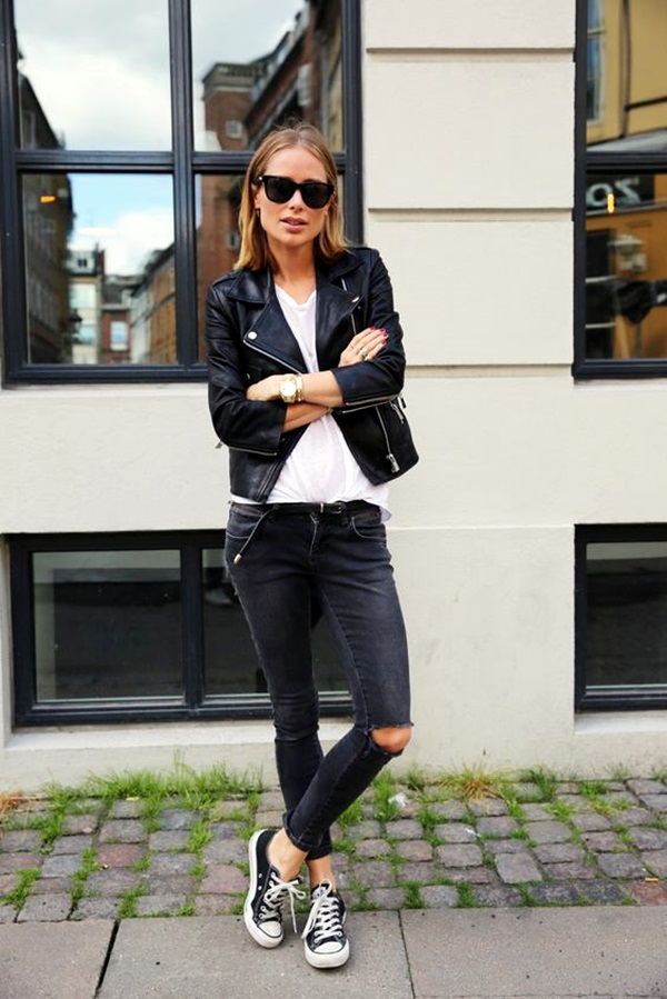 Cute Skinny Black Jeans Outfit (1)