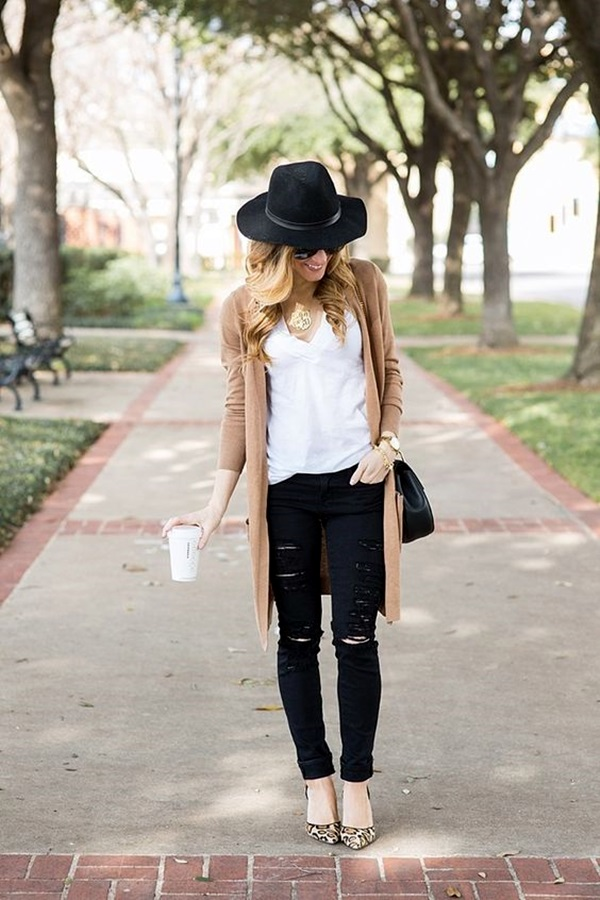 Cute Skinny Black Jeans Outfit (15)