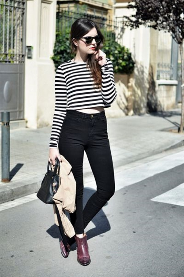 Cute Skinny Black Jeans Outfit (5)