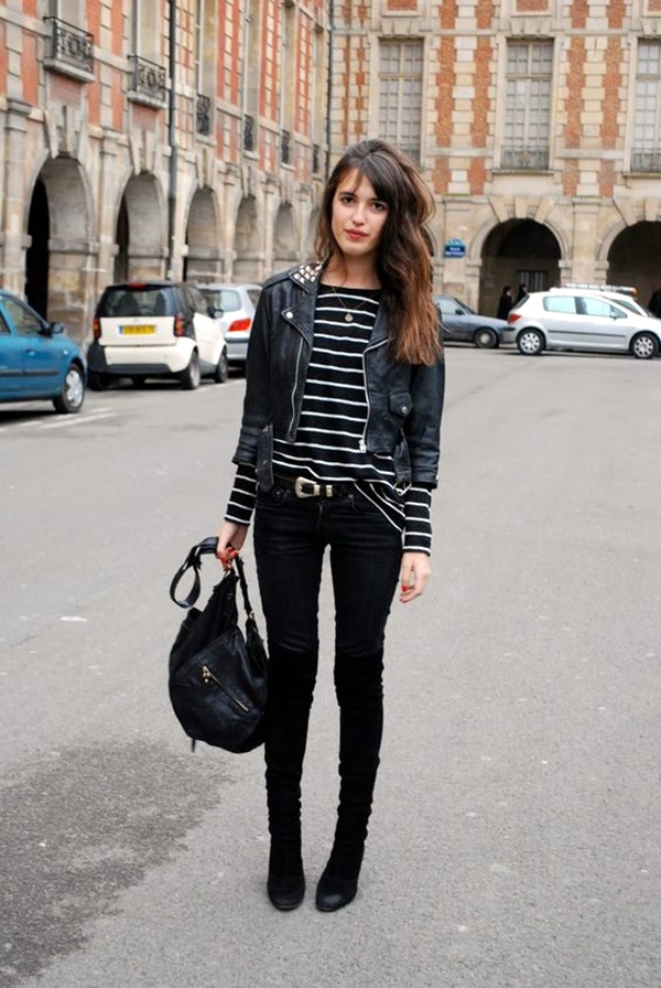 Cute Skinny Black Jeans Outfit (9)