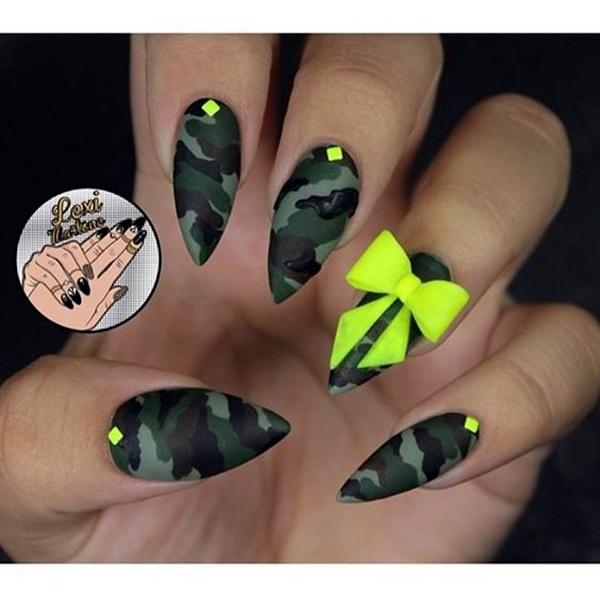 Easy Stiletto Nails Designs and Ideas (11)