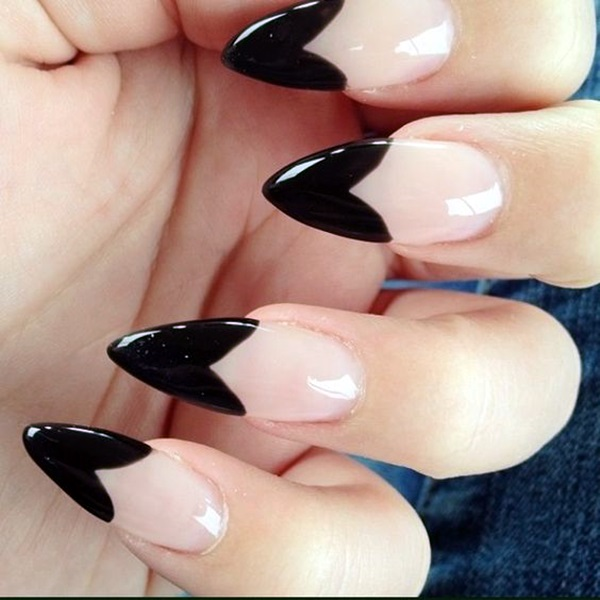Easy Stiletto Nails Designs and Ideas (2)