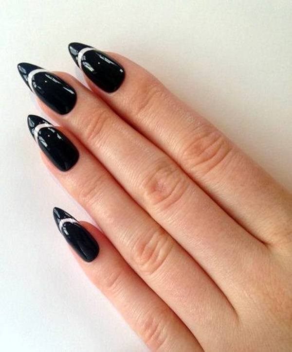 Easy Stiletto Nails Designs and Ideas (5)