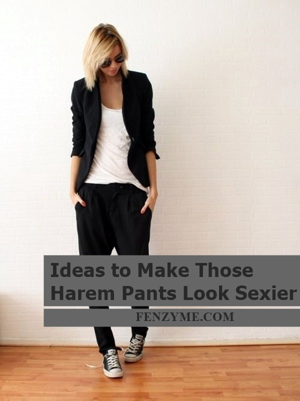 Ideas to Make Those Harem Pants Look Sexier (7)