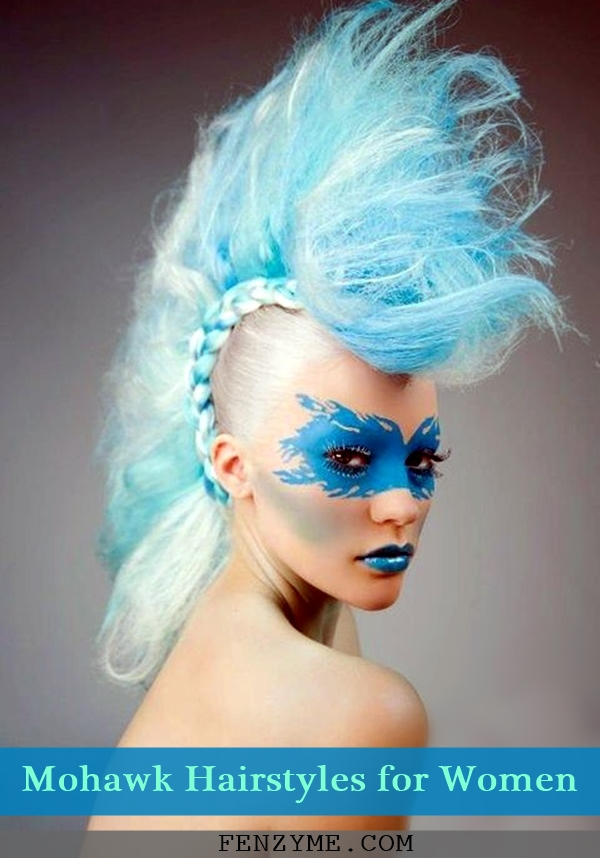 Mohawk Hairstyles for Women (1)