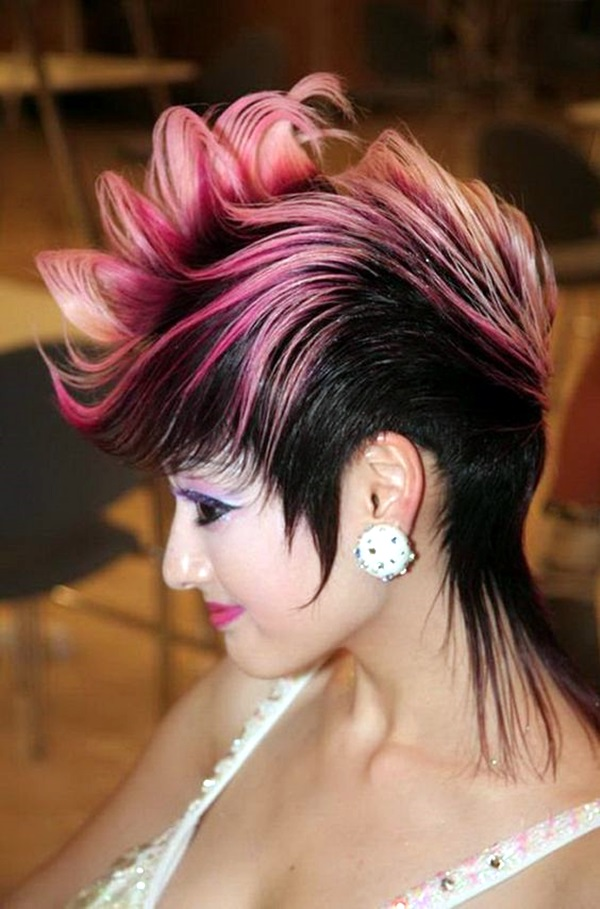 Mohawk Hairstyles for Women (20)