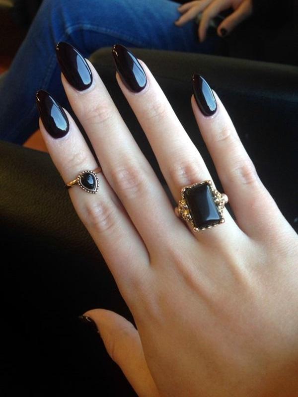 Pointy Almond Nail designs (14)