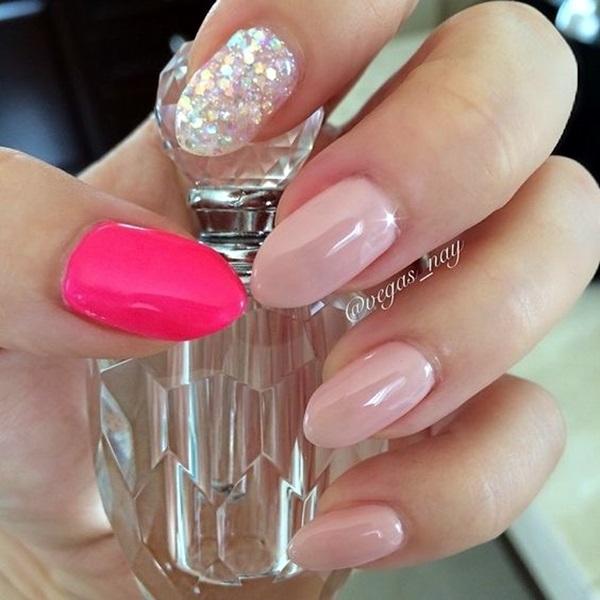 Pointy Almond Nail designs (2)