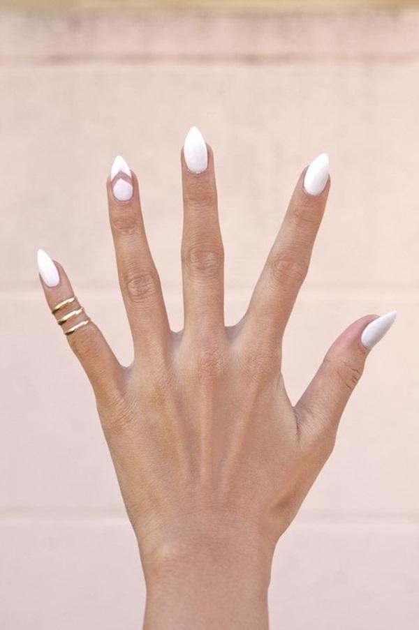 Pointy Almond Nail designs (4)