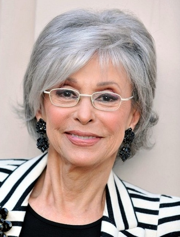 Short Hairstyles for Older Women (13)