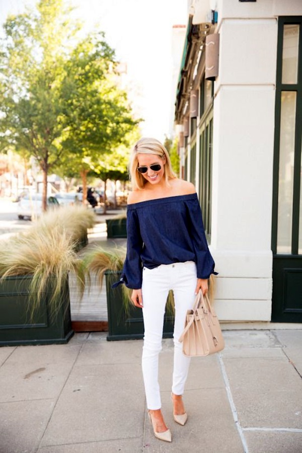 White Jeans Outfits (11)