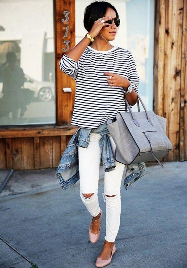 White Jeans Outfits (15)