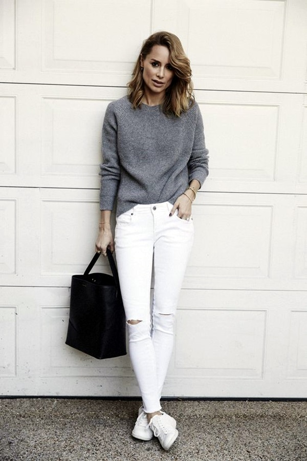White Jeans Outfits (16)