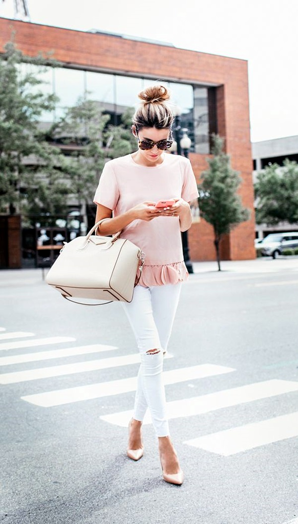 White Jeans Outfits (17)