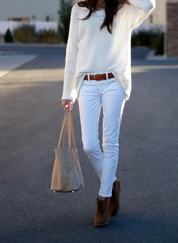 White Jeans Outfits (18)