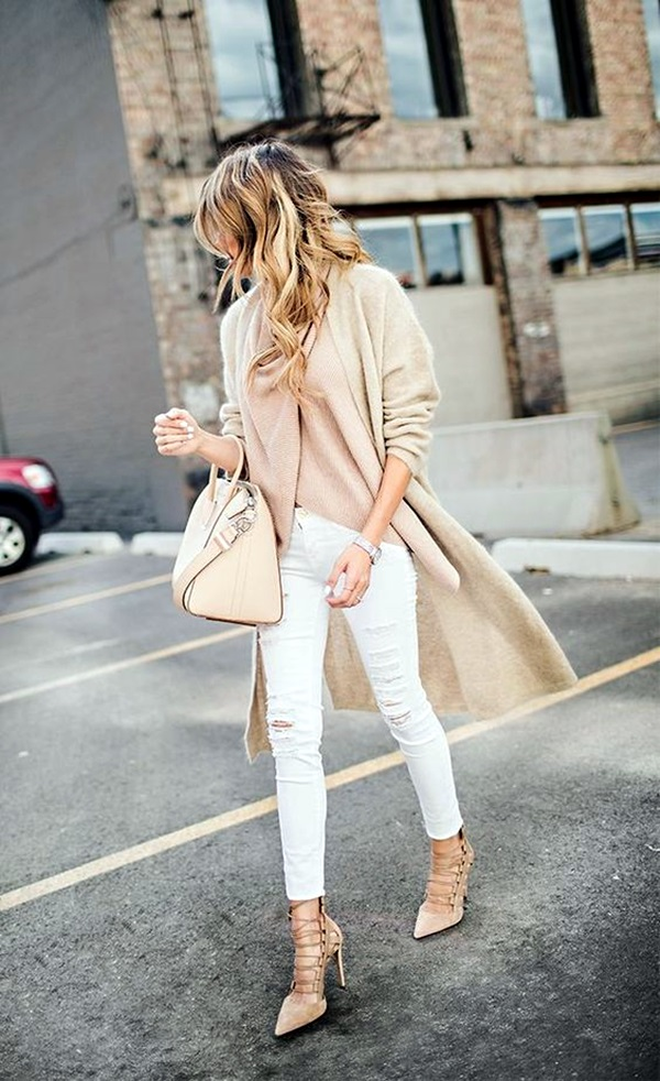White Jeans Outfits (2)