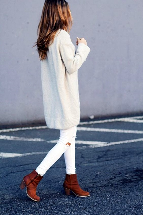 White Jeans Outfits (8)