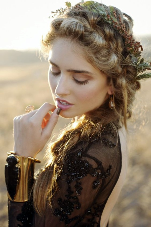 Bohemian Hairstyles for Women (15)