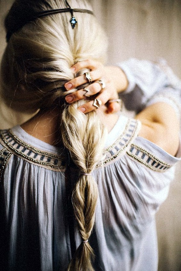 Bohemian Hairstyles for Women (16)