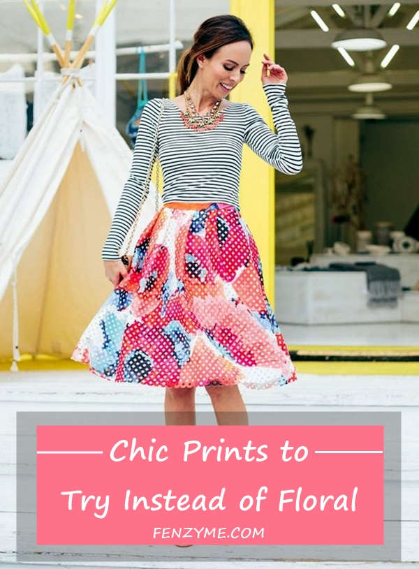 Chic Prints to Try Instead of Floral (1)
