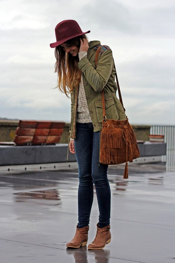 Cute Rainy Day Outfits (11)