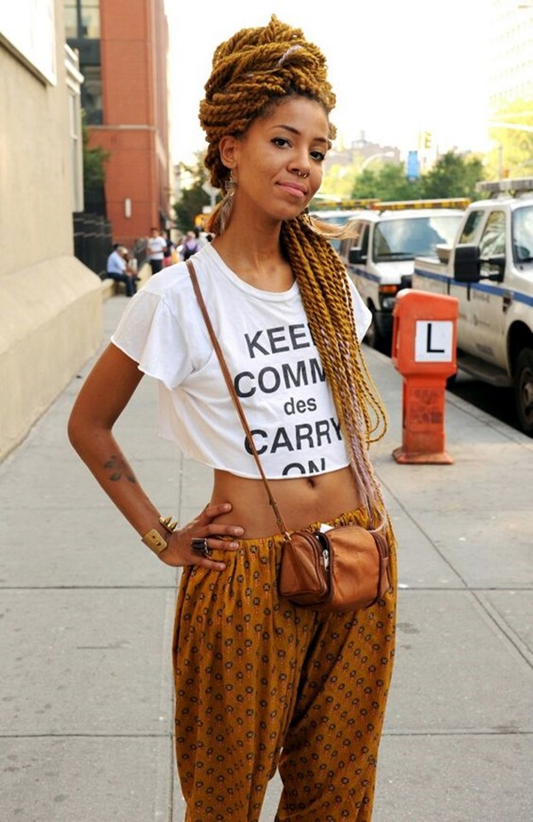 Natural Hairstyles for Black Women (2)
