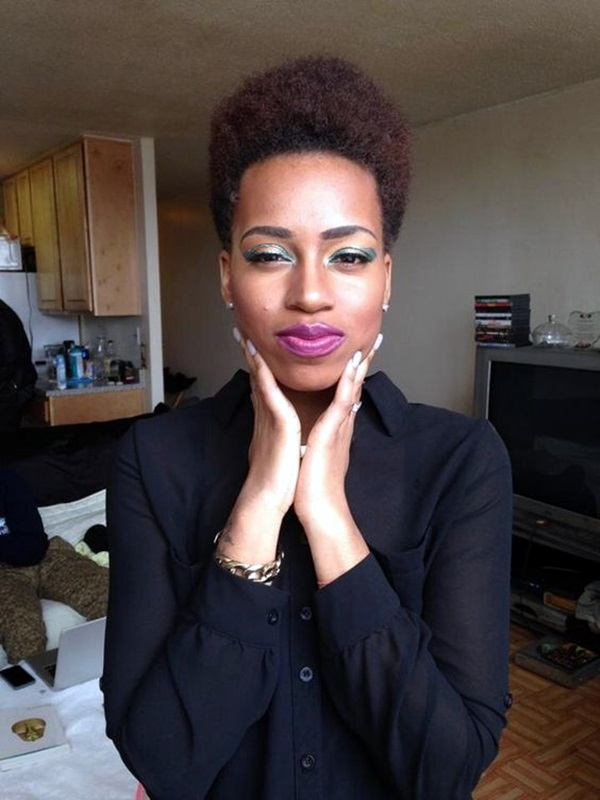 Natural Hairstyles for Black Women (3)