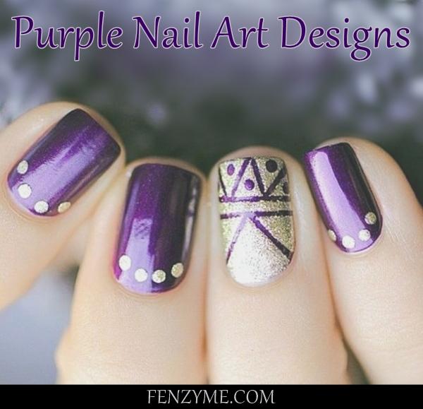 Purple Nail Art Designs (1)