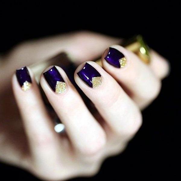 Purple Nail Art Designs (19)