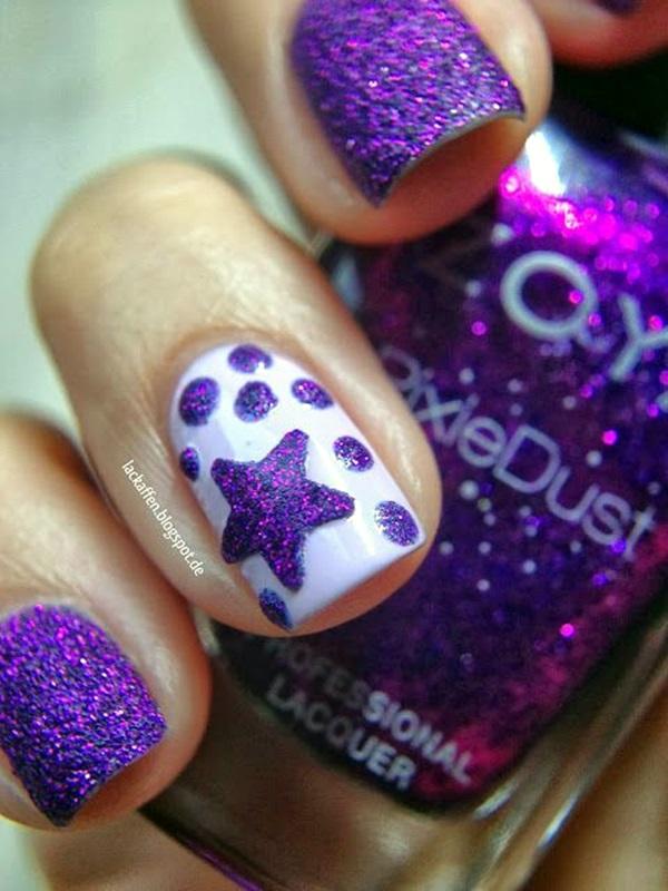 Purple Nail Art Designs (2)