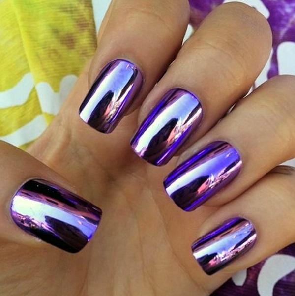 Purple Nail Art Designs (27)