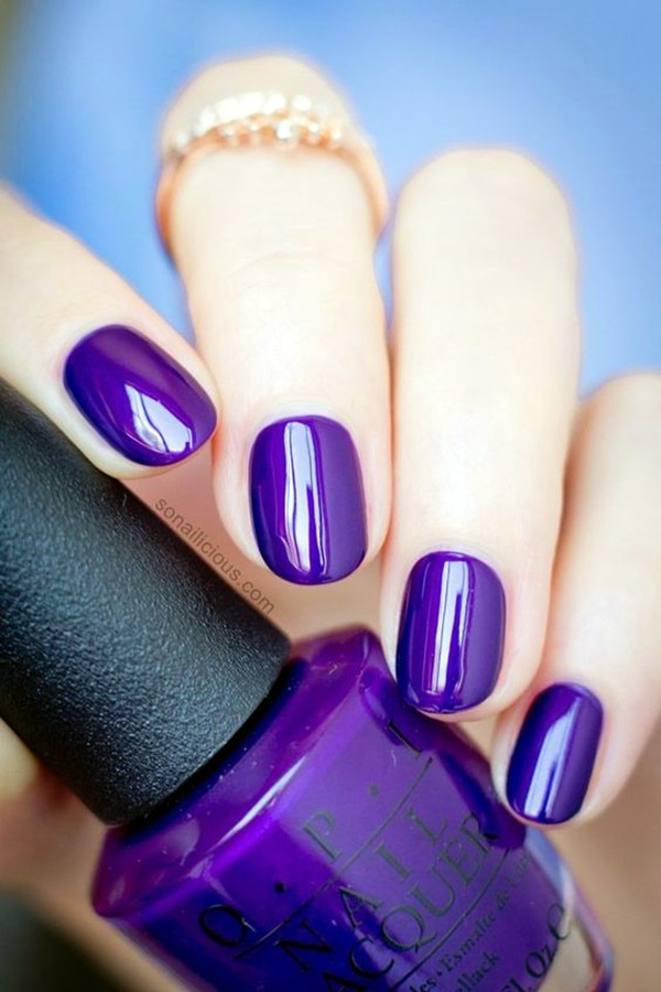 Purple Nail Art Designs (28)