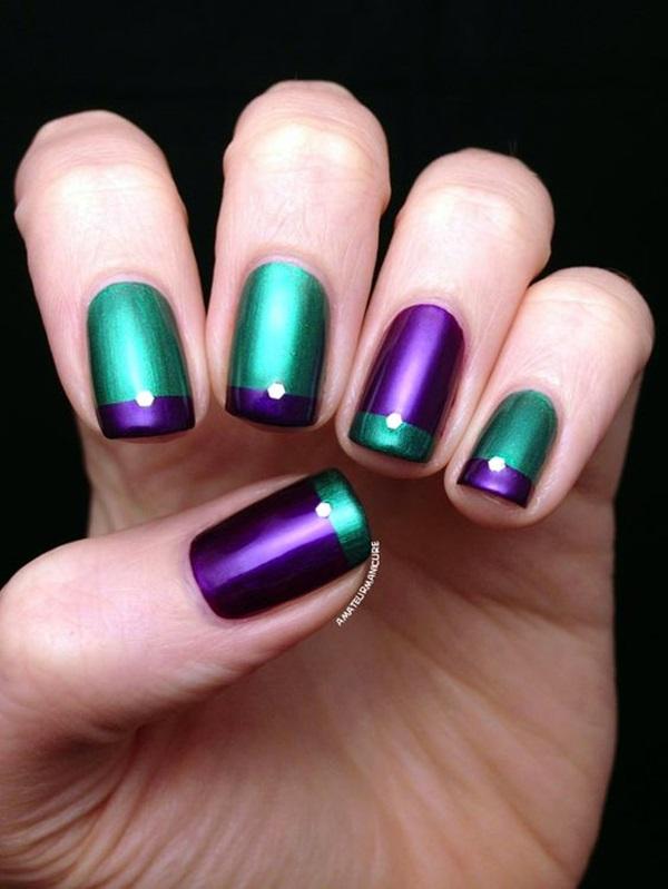 Purple Nail Art Designs (31)