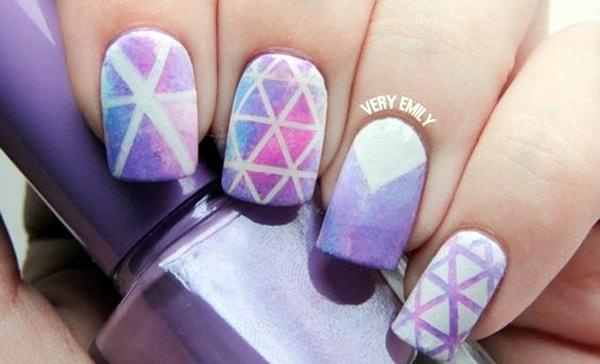 Purple Nail Art Designs (32)