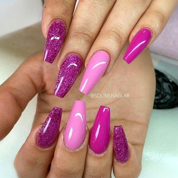 Purple Nail Art Designs (4)