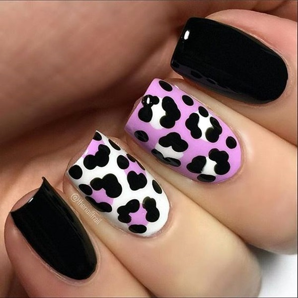 Purple Nail Art Designs (5)