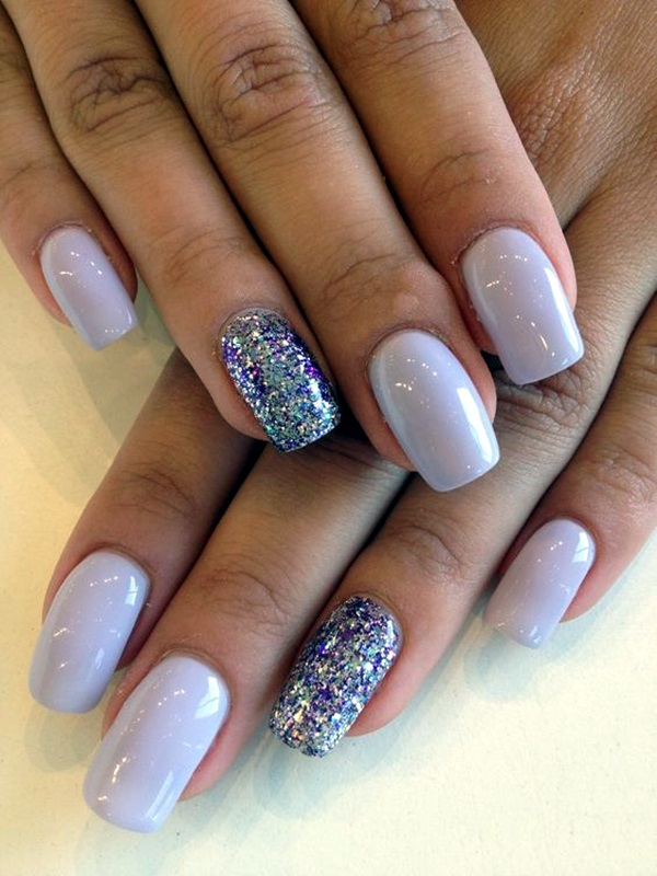 Purple Nail Art Designs (6)