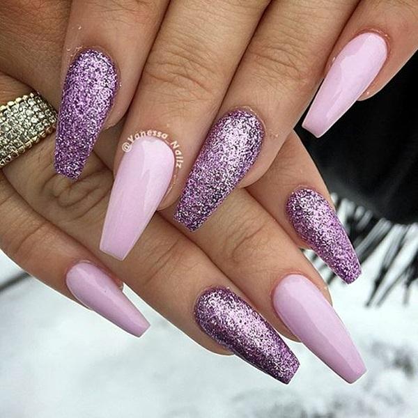 Purple Nail Art Designs (8)