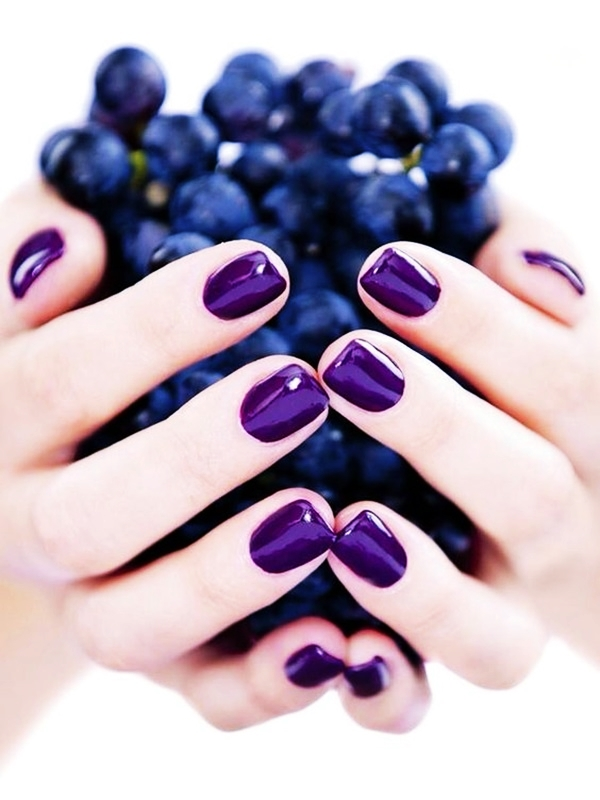 Purple Nail Art Designs (9)