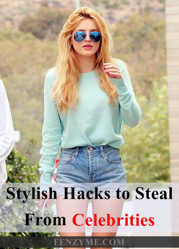 Stylish Hacks to Steal from Celebrities (2)