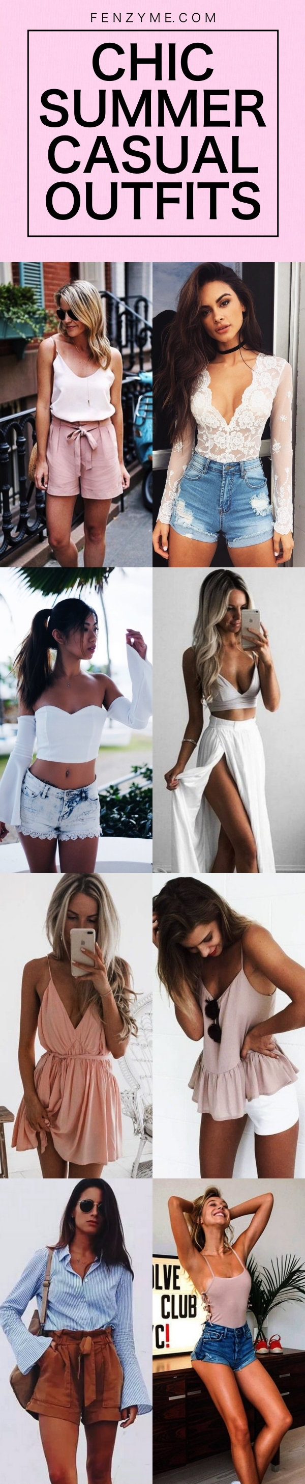 CHIC SUMMER CASUAL OUTFITS