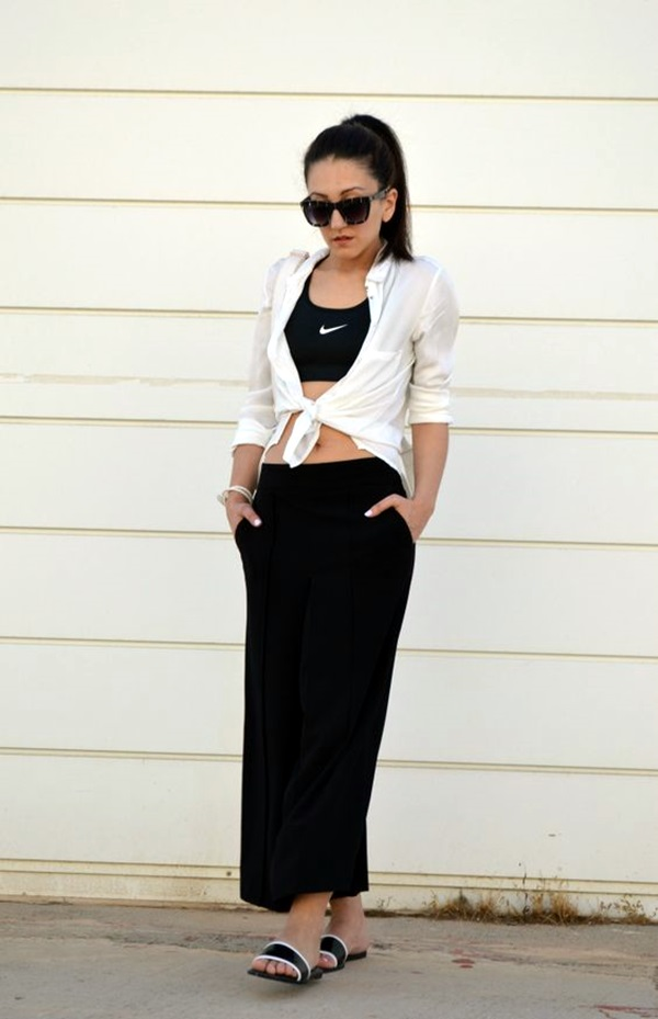 Casual Culottes Outfit (1)